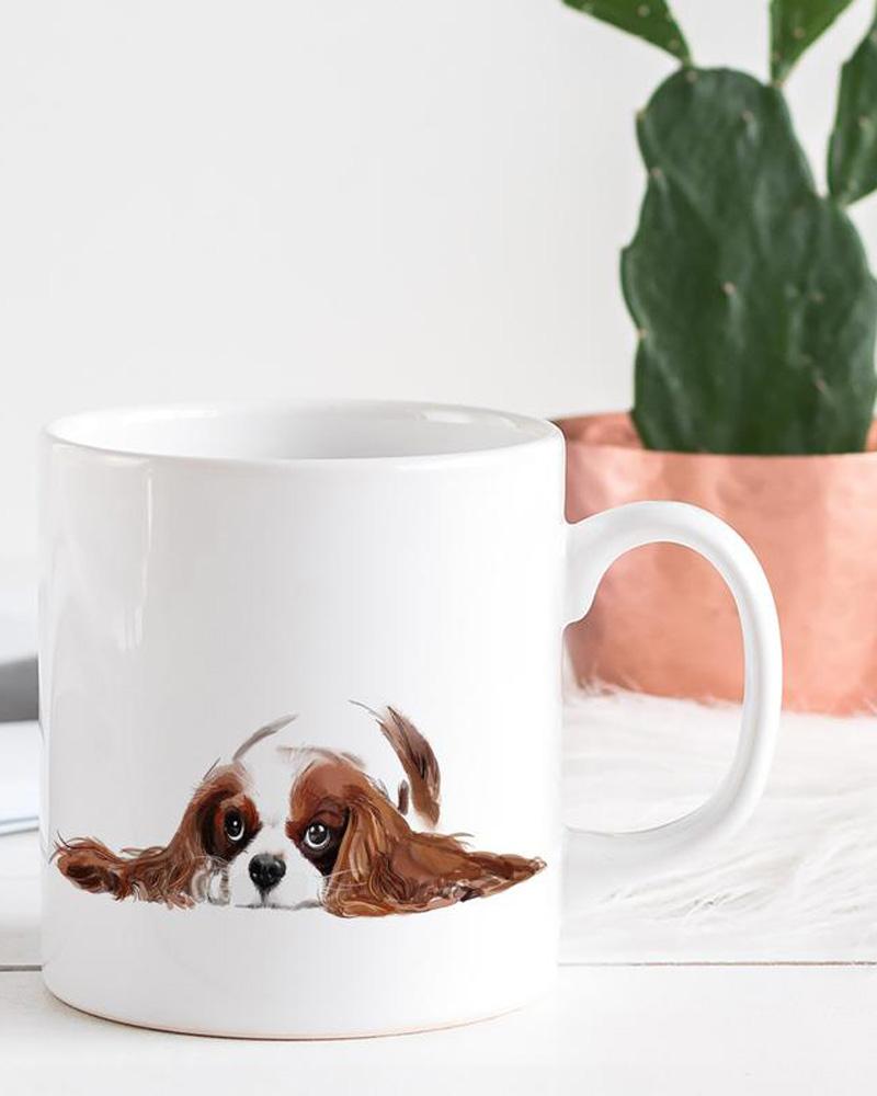 cavalier king charles mug