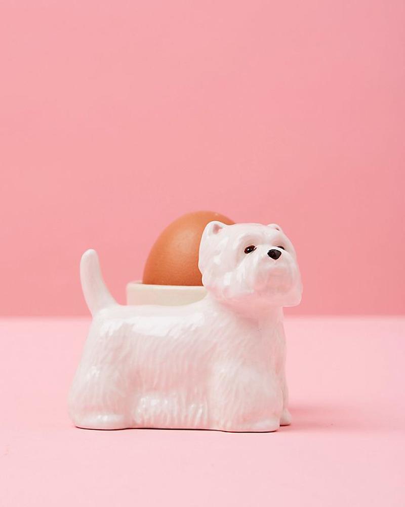 dog egg cup anthropologie dog home decor