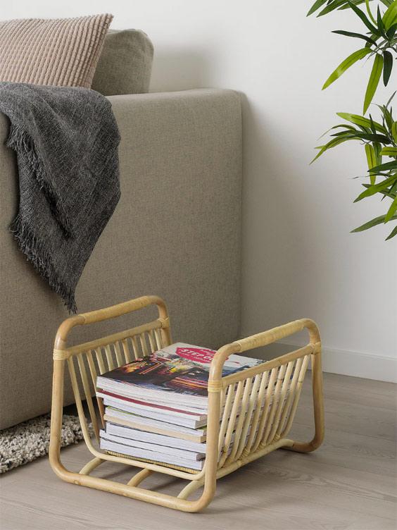 Living Room Magazine Racks