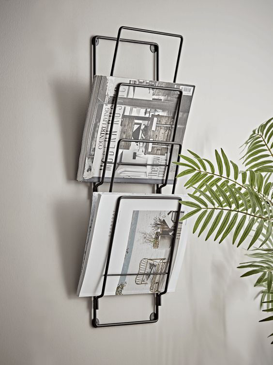 wall magazine rack wire cox and cox