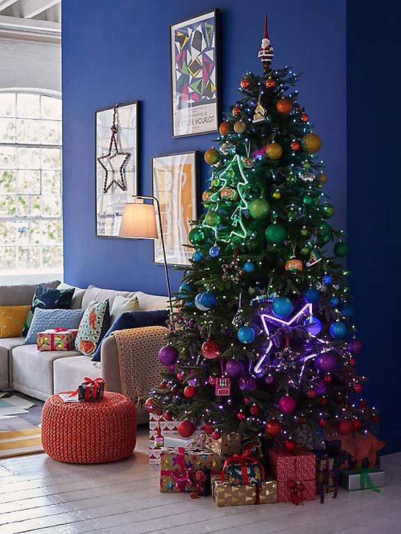 John Lewis Christmas neon