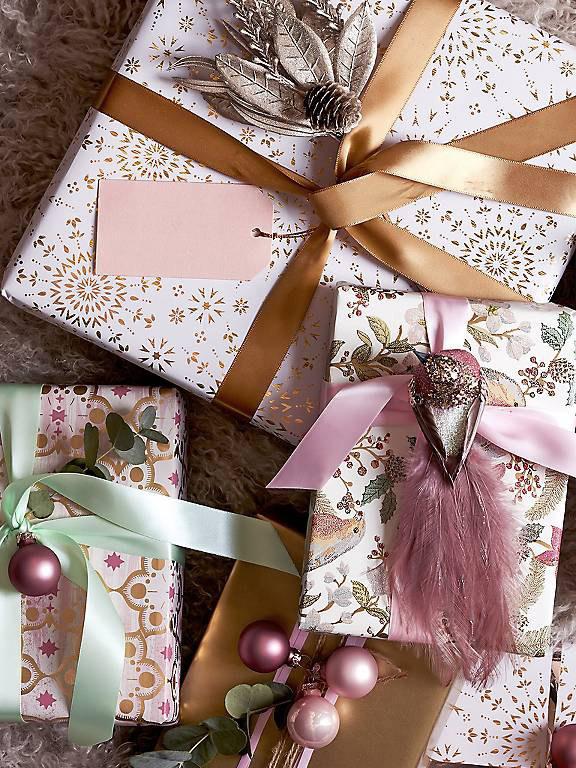 John Lewis Christmas gift wrap