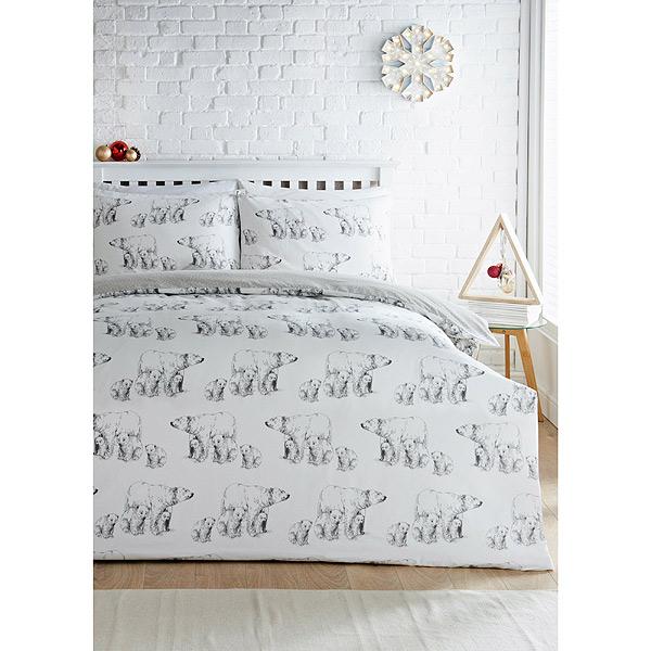 Polar Bear Christmas Bedding