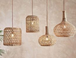 Natural Lamp Shades