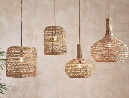 Natural Lamp Shades