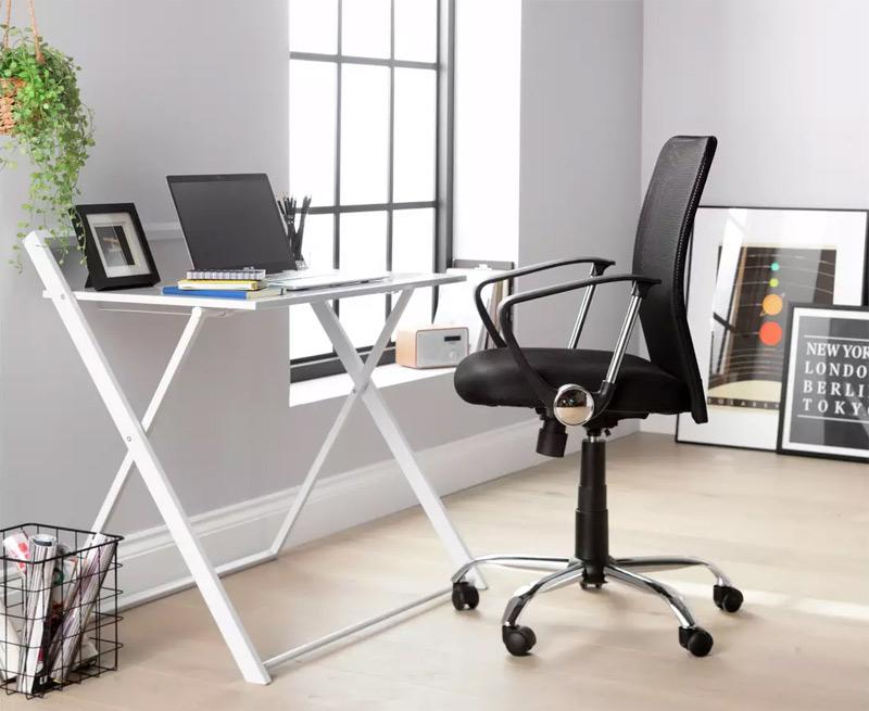 folding home office desk argos