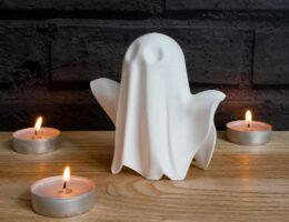 ghost Halloween decoration