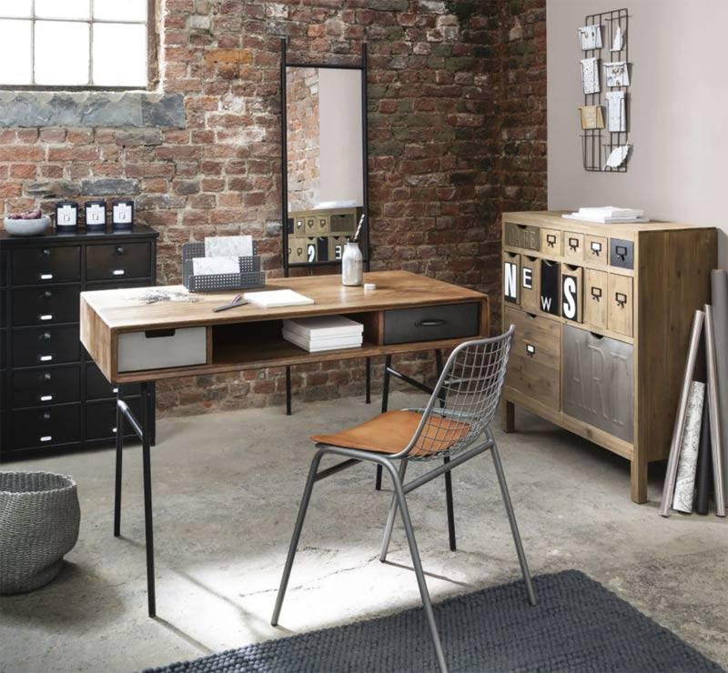 industrial home office desks