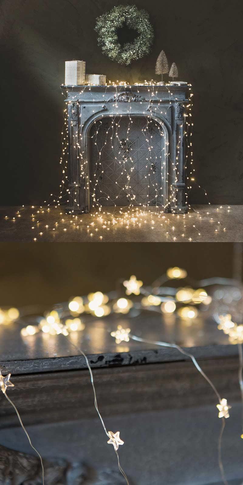 Christmas Star Lights string