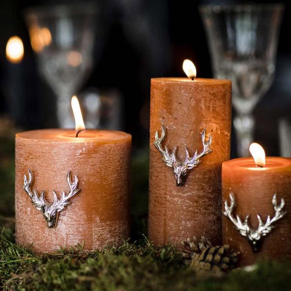 pillar candle pins