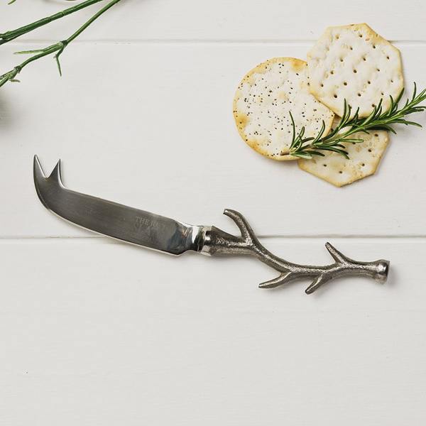 antler cheese knife