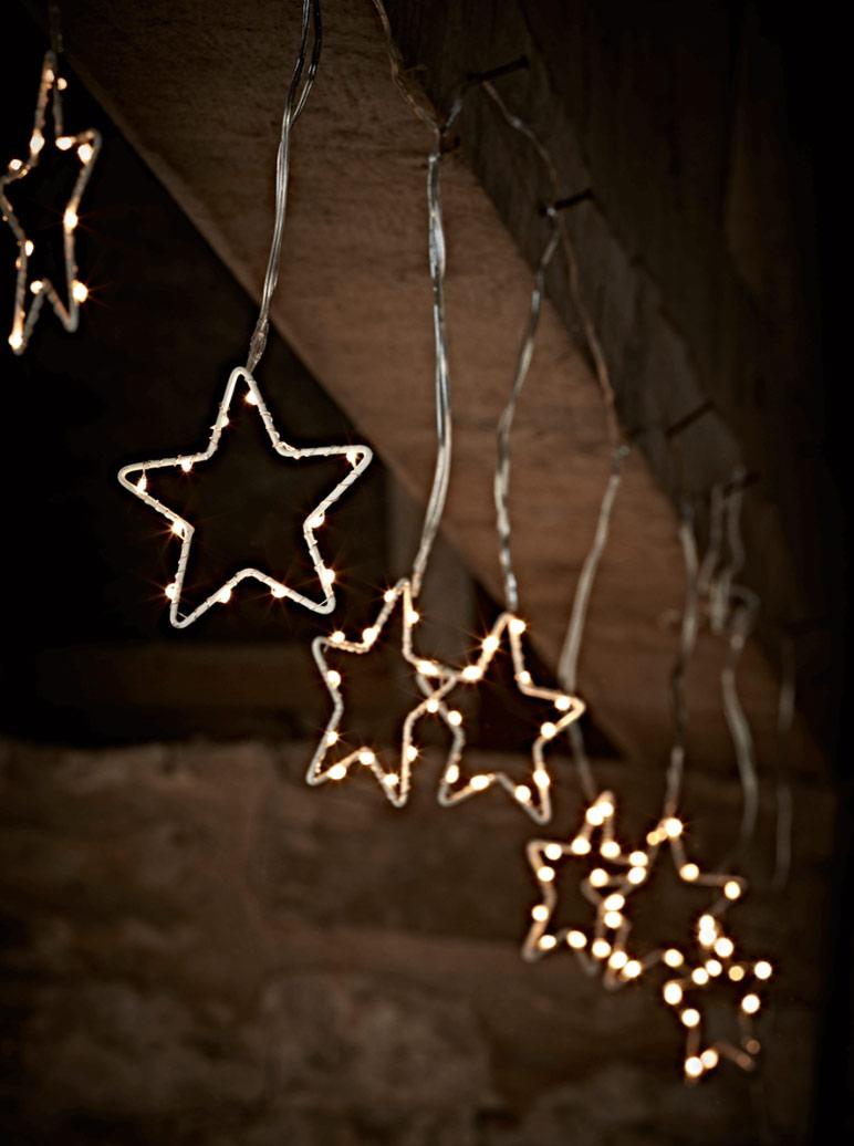 christmas star lights outdoor