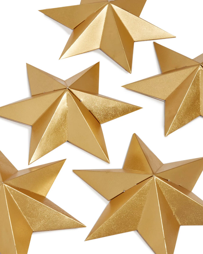 star shaped christmas crackers