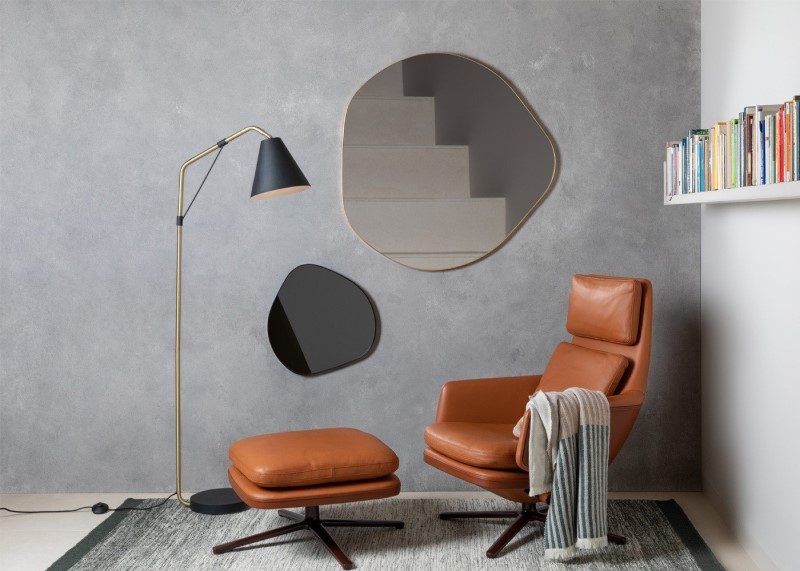 Organic Shaped Mirrors
